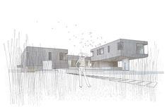 Casa Watermill,Diagrama