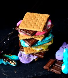 Yammie's Noshery: Peep S'mores!