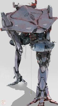 Two headed robot by Sean Yoo. (via two headed robot - Seanyoodesign)