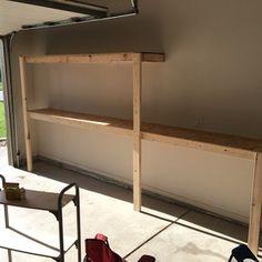DIY easy garage storage