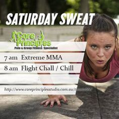 Hello Weekend! Here's our Saturday sweat you better hit.. #extrememma #antigravityyoga #aerialyoga #flightchill #challenge