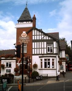 Albert Arms Pub at Kingston upon Thames, London, UK