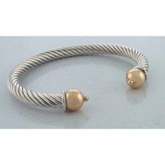 Cape Cod Heavy Twist Cuff Bracelet ($130-$250)
