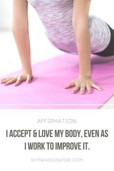 Love your body. It's capable of amazing things. #fitness #workoutaffirmation #affirmation #fitnessaffirmation #workout