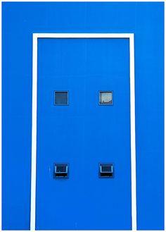 #Blue #windows #white #geometric #rectangle