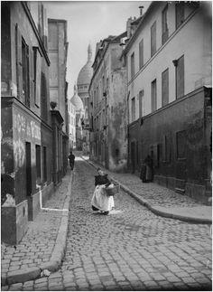 montmartre 1904 rue saint rustique