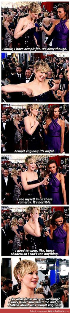 Funny pictures about Jennifer Lawrence on the red carpet. Oh, and cool pics about Jennifer Lawrence on the red carpet. Also, Jennifer Lawrence on the red carpet. Jennifer Lawrence, J Law, Mtv, Haha, The Hunger Games, Humor, Nerd, Totally Me, Just For Laughs