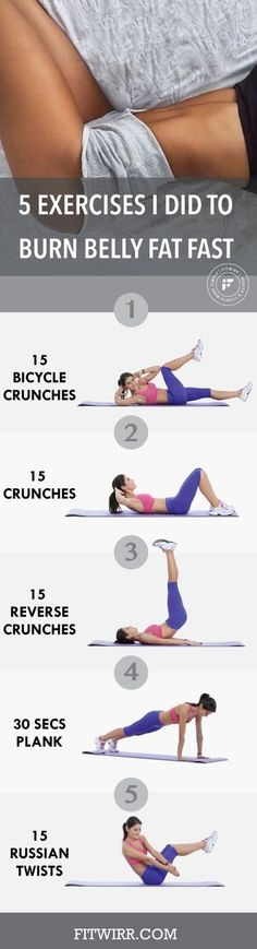 Eliminate Fat With This 10 Minute Trick - My flat belly workout. Whenever I need to burn and lose belly fat, these are my go-to exercises. Eliminate Fat With This 10 Minute Trick - Do This One Unusual Trick Before Work To Melt Away Pounds of Belly Fat Fitness Workouts, Abs Workout Routines, Ab Workout At Home, At Home Workouts, Yoga Fitness, Ab Workouts, Stomach Workouts, Lifting Workouts, Gym Routine