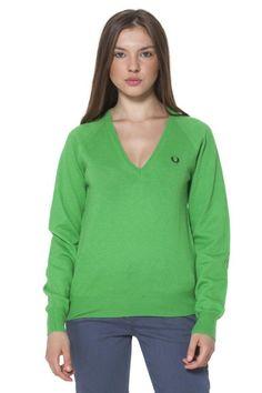 Maglia Donna Fred Perry (BO-31302168 0166) colore Verde
