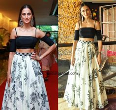 40e2cad327 Shilpa Reddy in a long skirt   crop top photo South India