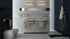 Modern Urban Bathroom Interior