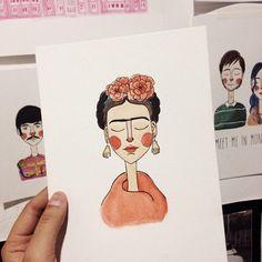 Conheça o mundo ilustrado de Luiza Alcântara: suas aquarelas, personalidades da cultura pop e retratos do cotidiano - Follow the Colours