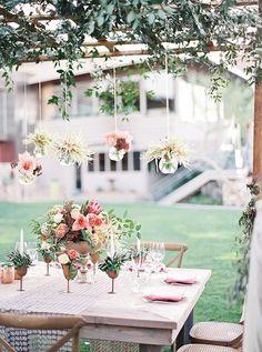 Copper & coral wedding inspiration