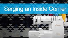 Sue Green-Baker teaches us a quick method on how to sew an inside corner on a serger. http://www.superiorthreads.com/videos/serging-an-inside-corner/ We are ...