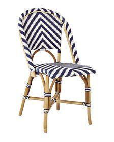 Chevron Riviera Side Chair