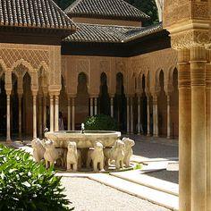 Alhambra, Spain (when Spain was Islamic)