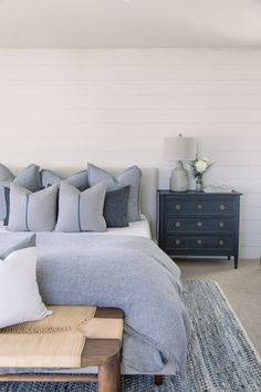 North Beach Bungalow — Pure Salt Interiors - New Ideas Home Design, Interior Design, Interior Ideas, Coastal Interior, Interior Paint, Coastal Decor, Home Decor Bedroom, Bedroom Furniture, Master Bedroom