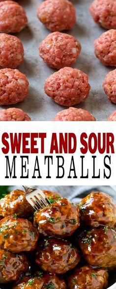 SWEET AND SOUR MEATBALLS #meatballs #meatballs #sweetandsourmeatballs