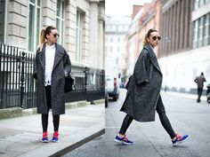 Get this look: http://lb.nu/look/4721223  More looks by Lucita Y: http://lb.nu/lucitisima  Items in this look:  H&M Coat, Nike Trainers