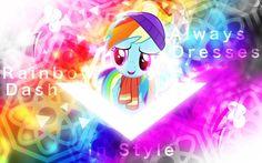 Rainbow Dash Always Dresses in Style by Sol-Republica.deviantart.com on @DeviantArt