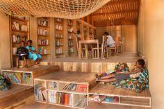 LIBRARY of MUYINGA - BC architects
