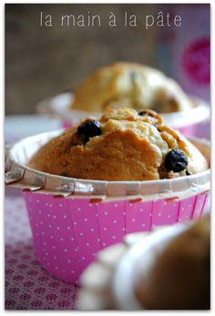 Muffins aux pépites de chocolat et aux noisettes