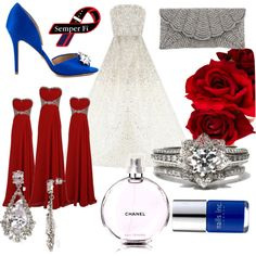 """""""Marine Corp Wedding"""" by mustang02901 on Polyvore"""