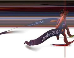 Photo finish for Norden of Norway and Spirig of Switzerland in Women's Triathlon London Olympics 2012