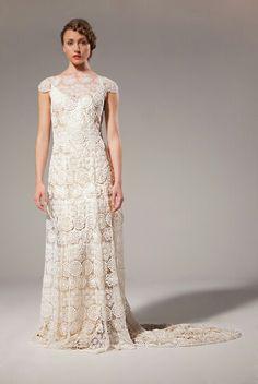 This Mary dress was a big hit at @whitegallerylondon  www.motasem.co.uk #WhiteGallery #bohobride #lace #coolbride #modernbride #dentelle #guipure #SabinaMotasem #bridalwear #bridalgown #weddingdress #laceweddingdress Simple Elegant Dresses, Vintage Style Wedding Dresses, Elsa Dress, Lace Overlay Dress, Ivory Silk, Boho Bride, Bridal Boutique, Bridal Gowns, Formal Dresses