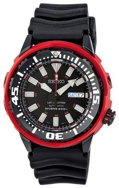 Seiko Men's SRP233 Limited Edition Watch: http://www.amazon.com/Seiko-SRP233-Limited-Edition-Watch/dp/B0080FS842/?tag=watch-pinterest-20
