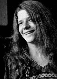 Janis Joplin had a beautiful smile