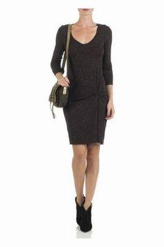 Robe Ikks - Robe Hiver : Shopping des robes de l'automne-hiver
