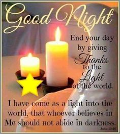 End Your Day By Giving Thanks good night good night quotes good night images good night greetings good night picture quotes Good Night Sister, Good Night Dear, Good Night Friends, Good Night Gif, Good Night Sweet Dreams, Good Night Image, Night Time, Evening Greetings, Good Night Greetings
