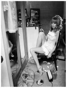 Pattie Boyd, Vogue, 1967 by Norman Parkinson
