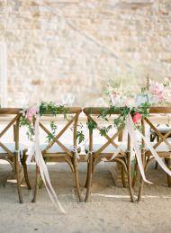 Soft + Romantic Summer Winery Wedding - Style Me Pretty