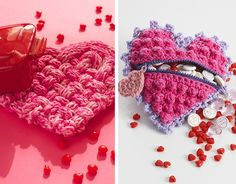 Be Mine: Crochet and Knit Projects - Yarnspirations Blog