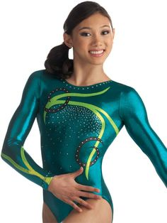 Interlaced Swirl Gym Leotard from GK Elite