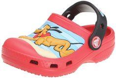 Crocs - Crocs Mickey & Pluto Clogs - Red/Black crocs. $29.78