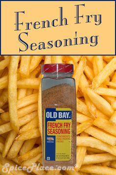 Old Bay French Fry Seasoning 37oz 1.04kg #OldBayFrenchFrySeasoning #OldBay #FrenchFrySeasoning #OldBay #spiceplace
