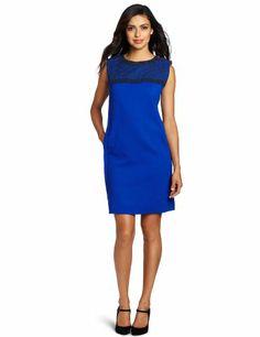Magaschoni Women's Wool Dress #workdresses