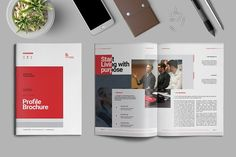 Company Profile Brochure by Elite_Standard on @creativemarket