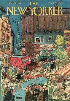 Ludwig Bemelmans, The New Yorker, June 24th 1950