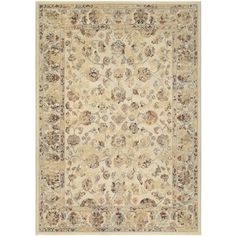 Couristan Easton Rothbury/ Beige-Multi Rug (9' x 12') | Overstock.com Shopping - The Best Deals on 7x9 - 10x14 Rugs