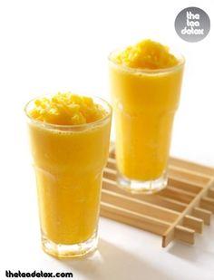 Mango Smoothies..  #theteadetox #diet #detox #manoges #smoothie
