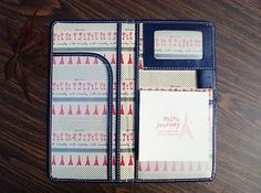 4 Color Passport Case Cover Credit Card Holder Cute Bifold Travel Leather Wallet