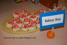 Nerf Birthday Party Food Invitations Target Bullseye