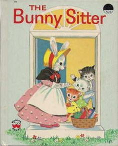'The Bunny Sitter', Wonder Books,  by Virginia Grilley with illustrations by Nancy Meyerhoff