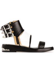 Toga Pulla Triple Buckle Sandal | SS 2014 | cynthia reccord