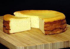 Saftiger Käsekuchen ohne Boden