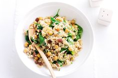 Last minute dinner guests are no problem with this quick and easy vegetarian pilaf.